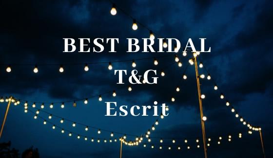 BESTBRIDAL T&G Escrit