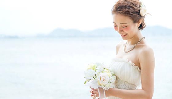 浜辺の花嫁